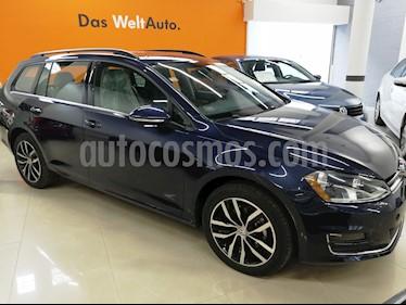 Foto venta Auto usado Volkswagen Golf Sportwagen Diesel DSG (2016) color Azul Noche precio $295,000