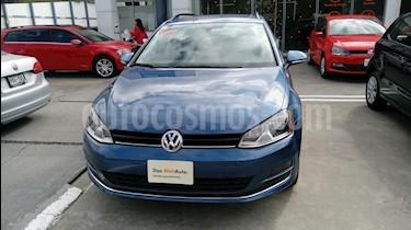 Foto venta Auto Seminuevo Volkswagen Golf Sportwagen Diesel DSG (2016) color Azul precio $299,990