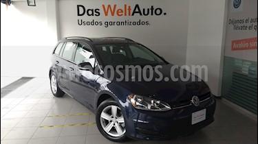 Foto venta Auto usado Volkswagen Golf Sportwagen Diesel DSG (2016) color Azul Noche precio $310,000