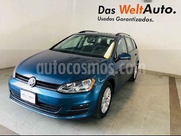 Foto venta Auto usado Volkswagen Golf Sportwagen Diesel DSG (2016) color Azul precio $255,900