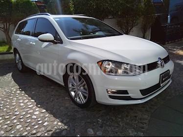 Foto venta Auto usado Volkswagen Golf Sportwagen Diesel DSG (2016) color Blanco Candy precio $275,000