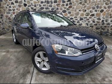 Foto venta Auto usado Volkswagen Golf Sportwagen Diesel DSG (2016) color Azul precio $270,000