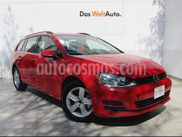 Foto venta Auto Seminuevo Volkswagen Golf Sportwagen Diesel DSG (2016) color Rojo Tornado precio $289,000