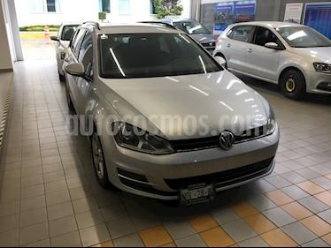 Foto Volkswagen Golf Sportwagen Diesel DSG usado (2016) color Plata precio $244,000