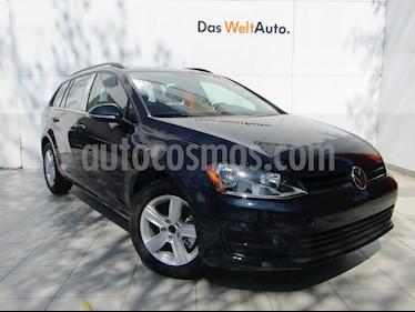 Foto venta Auto Seminuevo Volkswagen Golf Sportwagen Diesel DSG (2016) color Azul precio $275,000