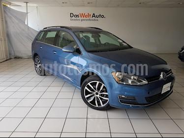 Foto venta Auto usado Volkswagen Golf Sportwagen Diesel DSG (2016) color Azul WR precio $314,900
