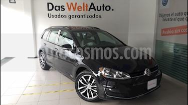Foto venta Auto usado Volkswagen Golf Sportwagen Diesel DSG (2016) color Negro precio $290,000