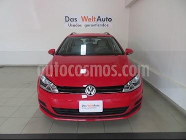 Foto venta Auto usado Volkswagen Golf Sportwagen Diesel DSG (2016) color Rojo Tornado precio $279,376