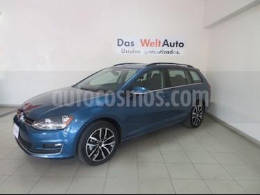 Foto venta Auto Seminuevo Volkswagen Golf Sportwagen Diesel DSG (2016) color Azul precio $309,826
