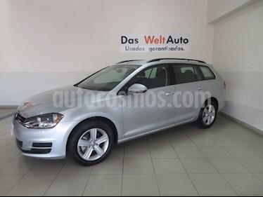 Foto venta Auto Seminuevo Volkswagen Golf Sportwagen Diesel DSG (2016) color Plata Reflex
