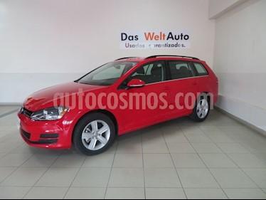 Foto venta Auto Seminuevo Volkswagen Golf Sportwagen Diesel DSG (2016) color Rojo Tornado