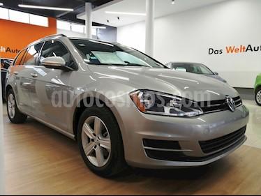 Foto venta Auto usado Volkswagen Golf Sportwagen Diesel DSG (2016) color Plata Tungsteno precio $270,000