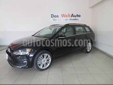 Foto venta Auto Seminuevo Volkswagen Golf Sportwagen Diesel DSG (2016) color Negro precio $309,826