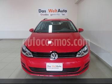 Foto venta Auto Seminuevo Volkswagen Golf Sportwagen Diesel DSG (2016) color Rojo Tornado precio $291,376