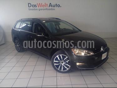 Foto venta Auto usado Volkswagen Golf Sportwagen Diesel DSG (2016) color Negro Onix precio $314,900