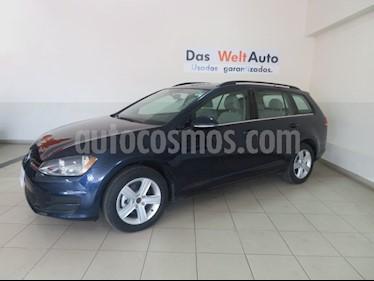 Foto venta Auto Seminuevo Volkswagen Golf Sportwagen Diesel DSG (2016) color Azul Tormenta precio $255,836