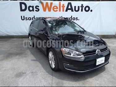 Foto venta Auto usado Volkswagen Golf Sportwagen Diesel DSG (2016) color Negro Onix precio $285,000