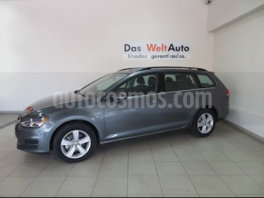Foto venta Auto Seminuevo Volkswagen Golf Sportwagen Diesel DSG (2016) color Gris Platino