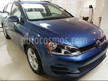 Foto venta Auto usado Volkswagen Golf Sportwagen Diesel DSG (2016) color Azul precio $250,000