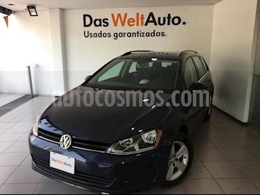 Foto venta Auto usado Volkswagen Golf Sportwagen Diesel DSG (2016) color Azul precio $260,000