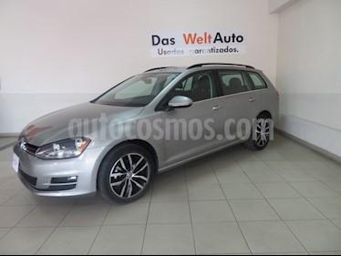 Foto venta Auto usado Volkswagen Golf Sportwagen Diesel DSG (2016) color Plata precio $304,826