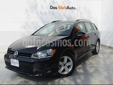 Foto venta Auto Seminuevo Volkswagen Golf Sportwagen Diesel DSG (2016) color Negro Onix precio $289,000