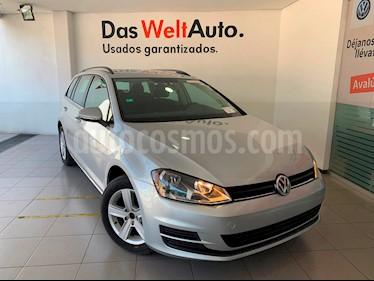 Foto venta Auto usado Volkswagen Golf Sportwagen Diesel DSG (2016) color Plata Reflex precio $295,000