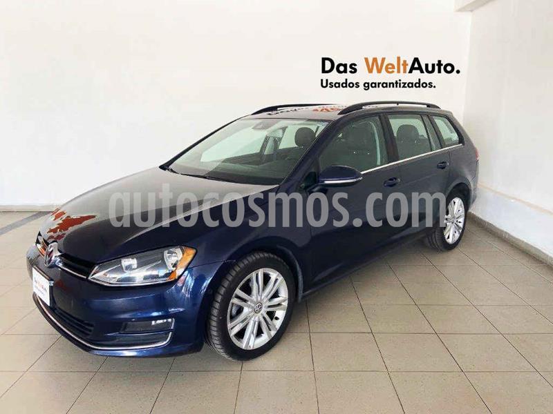 Volkswagen Golf Sportwagen Diesel DSG usado (2016) color Azul precio $229,995