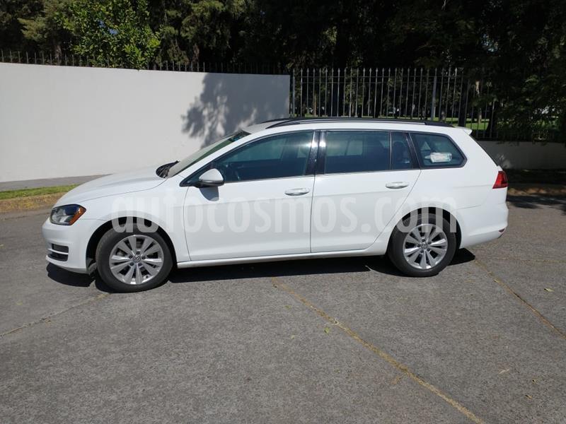 Volkswagen Golf Sportwagen Diesel DSG usado (2016) color Blanco precio $220,000