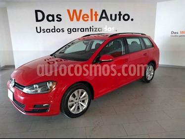 Volkswagen Golf Sportwagen Diesel DSG usado (2016) color Rojo precio $238,000