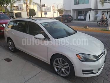 Volkswagen Golf Sportwagen Diesel DSG usado (2016) color Blanco precio $299,000