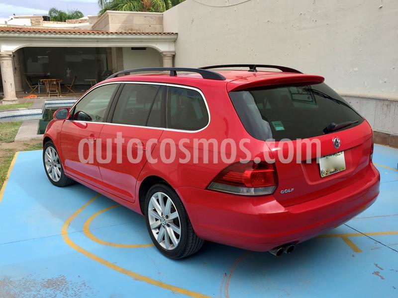 Volkswagen Golf Sportwagen 2.5L Tiptronic Piel Qc usado (2013) color Rojo Salsa precio $120,000