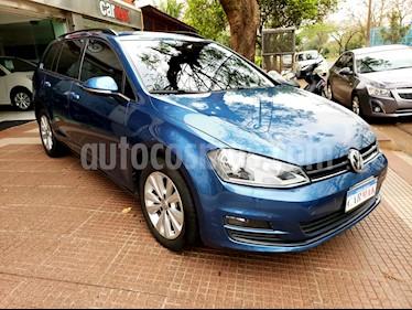 foto Volkswagen Golf Variant 1.4 TSI Comfortline usado (2015) color Azul precio $819.990
