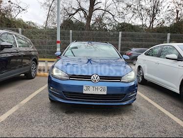 Volkswagen Golf Variant  2.0L TDI Highline DSG  usado (2017) color Azul precio $11.590.000
