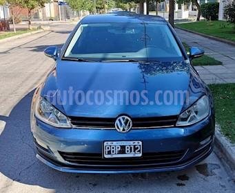 Foto venta Auto usado Volkswagen Golf 5P 1.4 Comfortline DSG (2015) color Azul Celeste precio $640.000