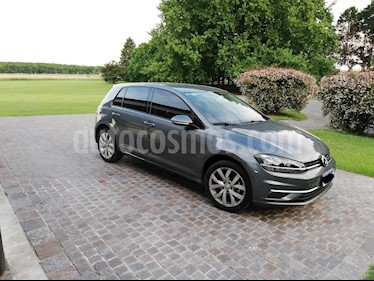 Foto venta Auto usado Volkswagen Golf 5P 1.4 Comfortline (2018) color Azul Noche precio $770.000