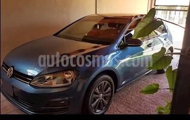 Foto venta Auto usado Volkswagen Golf 5P 1.4 TSi Comfortline DSG (2015) color Celeste