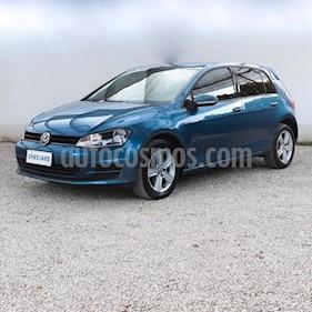 Foto venta Auto usado Volkswagen Golf 5P 1.6 Impulse (2015) color Azul Celeste precio $620.000