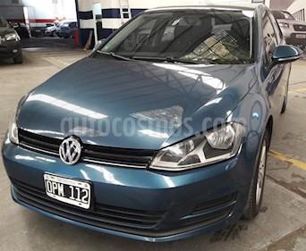 Foto venta Auto usado Volkswagen Golf 5P 1.6 TSi Trendline (2015) color Azul precio $570.000