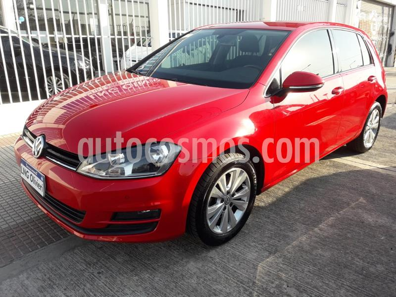 Volkswagen Golf 5P 1.4 TSi Comfortline DSG usado (2017) color Rojo precio $1.830.000