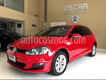 Volkswagen Golf 5P 1.4 TSi Comfortline usado (2015) color Rojo precio $1.299.000