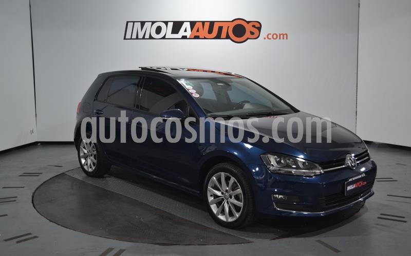 Volkswagen Golf 5P 1.4 TSi  Highline DSG usado (2015) color Azul Acero precio $1.600.000