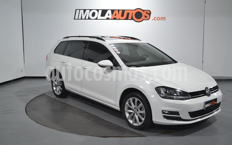 Volkswagen Golf 5P 1.4 TSi  Highline DSG usado (2016) color Blanco precio $1.800.000