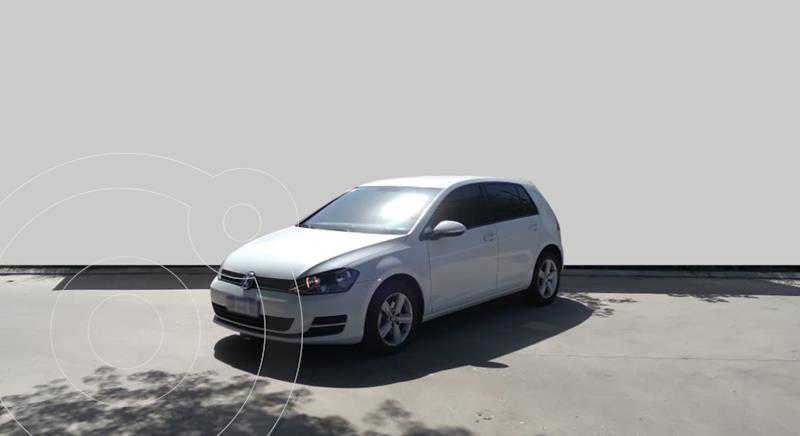 Volkswagen Golf 5P 1.6 Trendline usado (2017) color Blanco precio $1.750.000