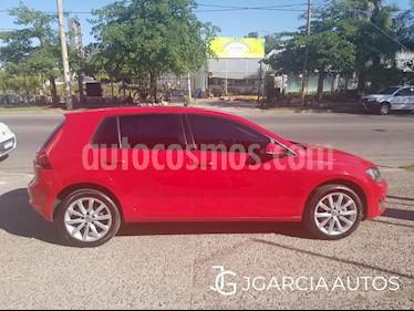 Volkswagen Golf 5P 1.4 TSi  Highline DSG usado (2016) color Rojo precio $1.550.000