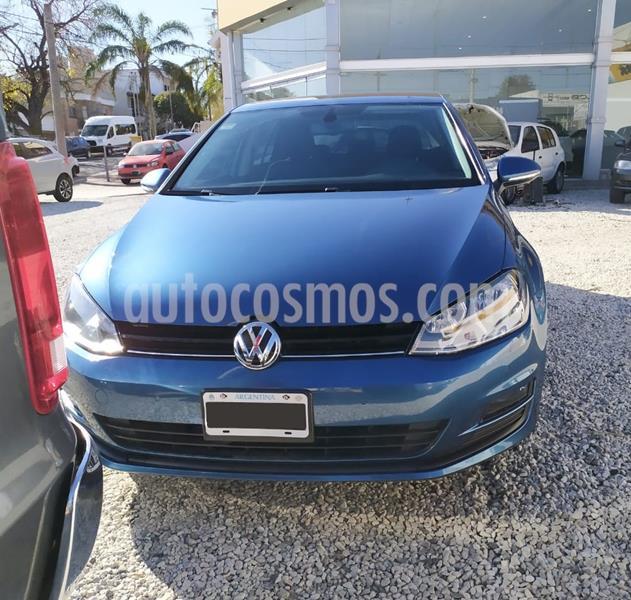 Volkswagen Golf 5P 1.4 TSi Comfortline DSG usado (2015) color Azul precio $1.550.000