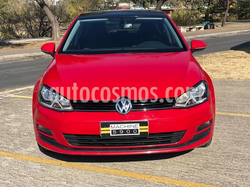 Volkswagen Golf 5P 1.4 TSi Comfortline DSG usado (2017) color Rojo precio $1.600.000