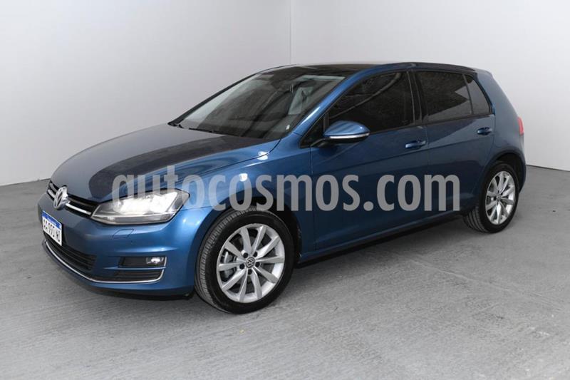 Volkswagen Golf 5P 1.4 TSi Highline DSG usado (2017) color Azul precio $2.310.000