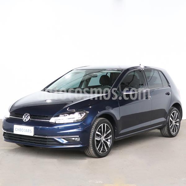 Volkswagen Golf 5P 1.4 TSi  Highline DSG usado (2018) color Azul Noche precio $2.600.000