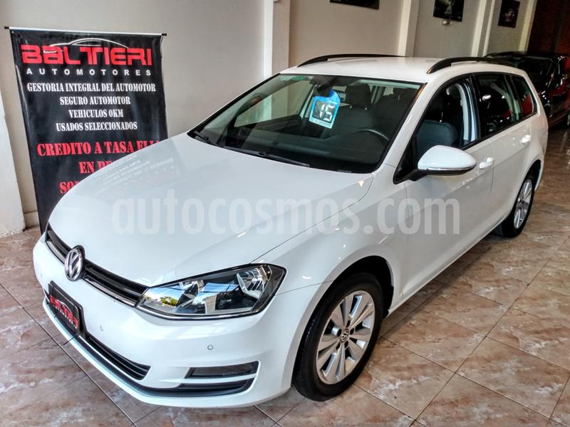 Volkswagen Golf 5P 1.4 TSi  Highline DSG usado (2016) color Blanco precio $1.420.000